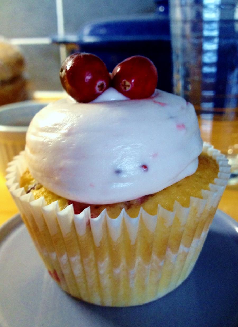 Cranberry Cupcake, Sam Loves Cake