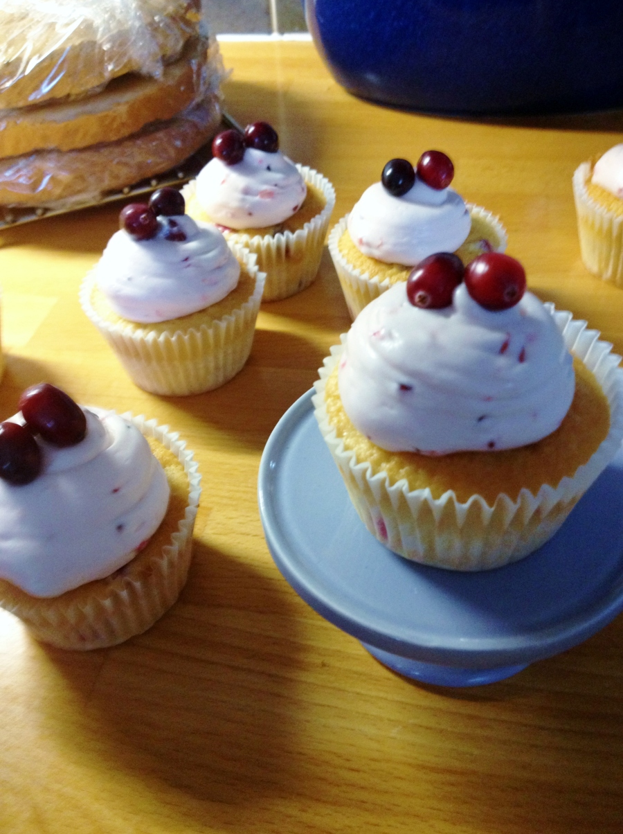 Cranberry Cupcakes, Sam Loves Cake