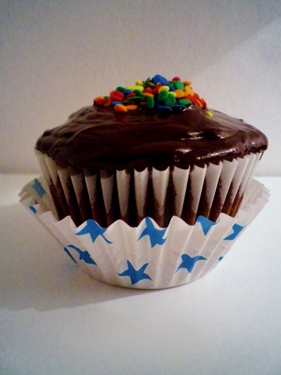Chocolate Ganache Cupcake, Sam Loves Cake