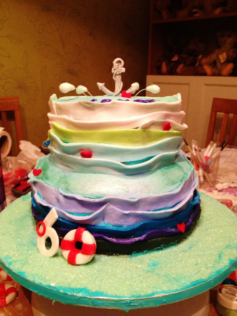 Nautical Cake, Sam Loves Cake
