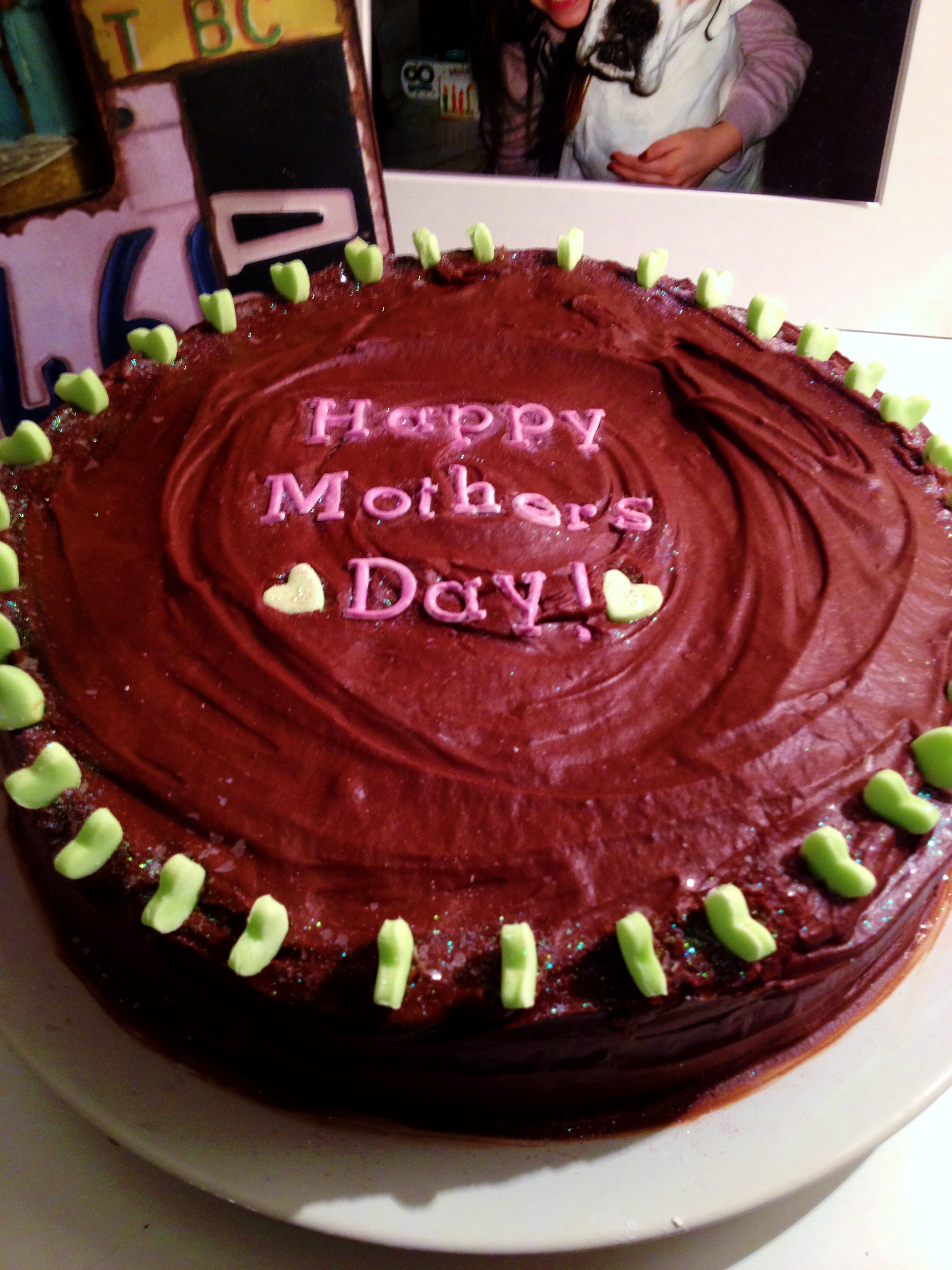 Mother's Day Mint Chocolate Cake – Sam Loves Cake