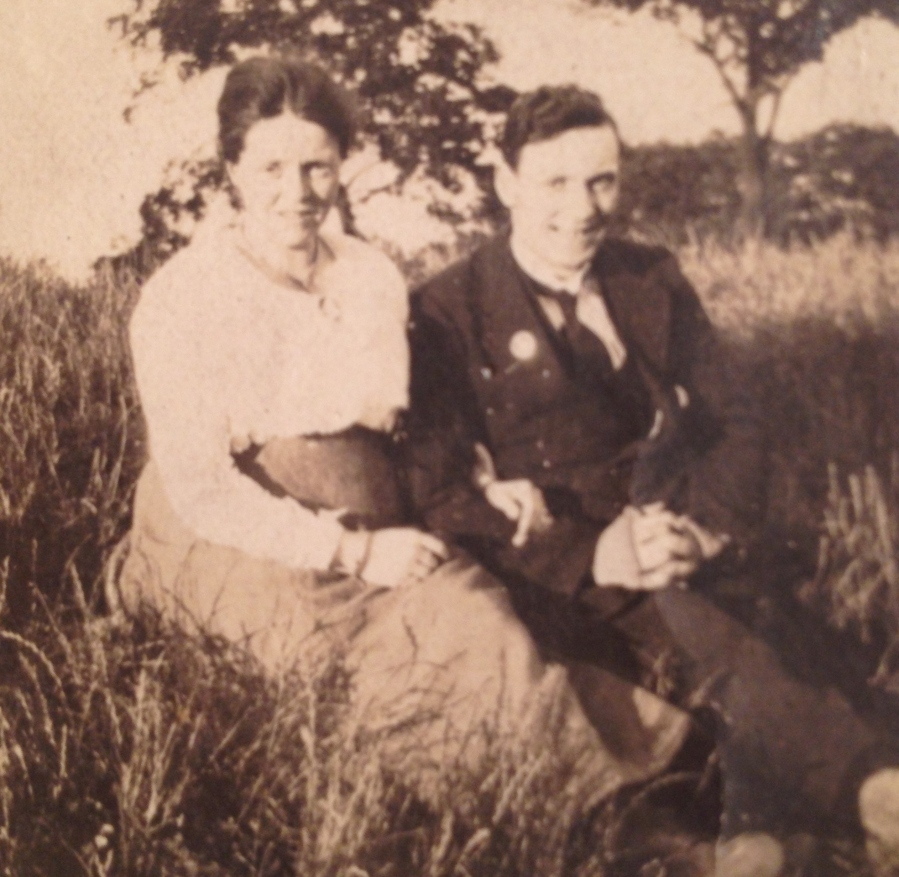 My Great-Grandmother and Great Grandfather, Jean and William.