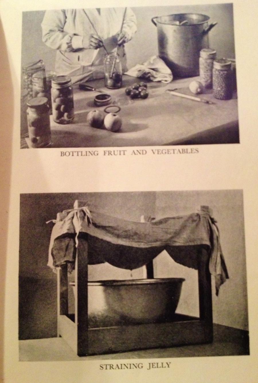 Jam making methods in Mrs Arthur Webb's Economical Cookery.