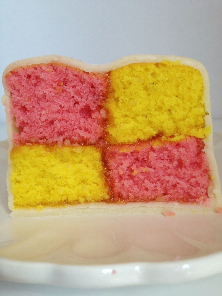 Battenberg Cake, Sam Loves Cake