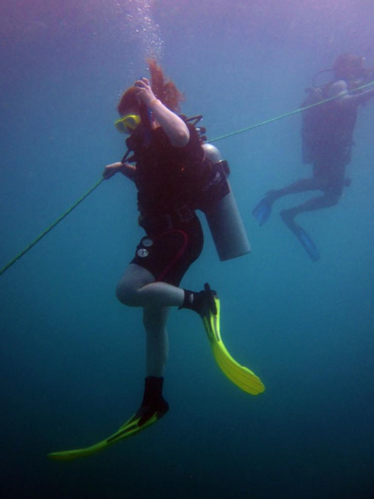 My first ocean descent