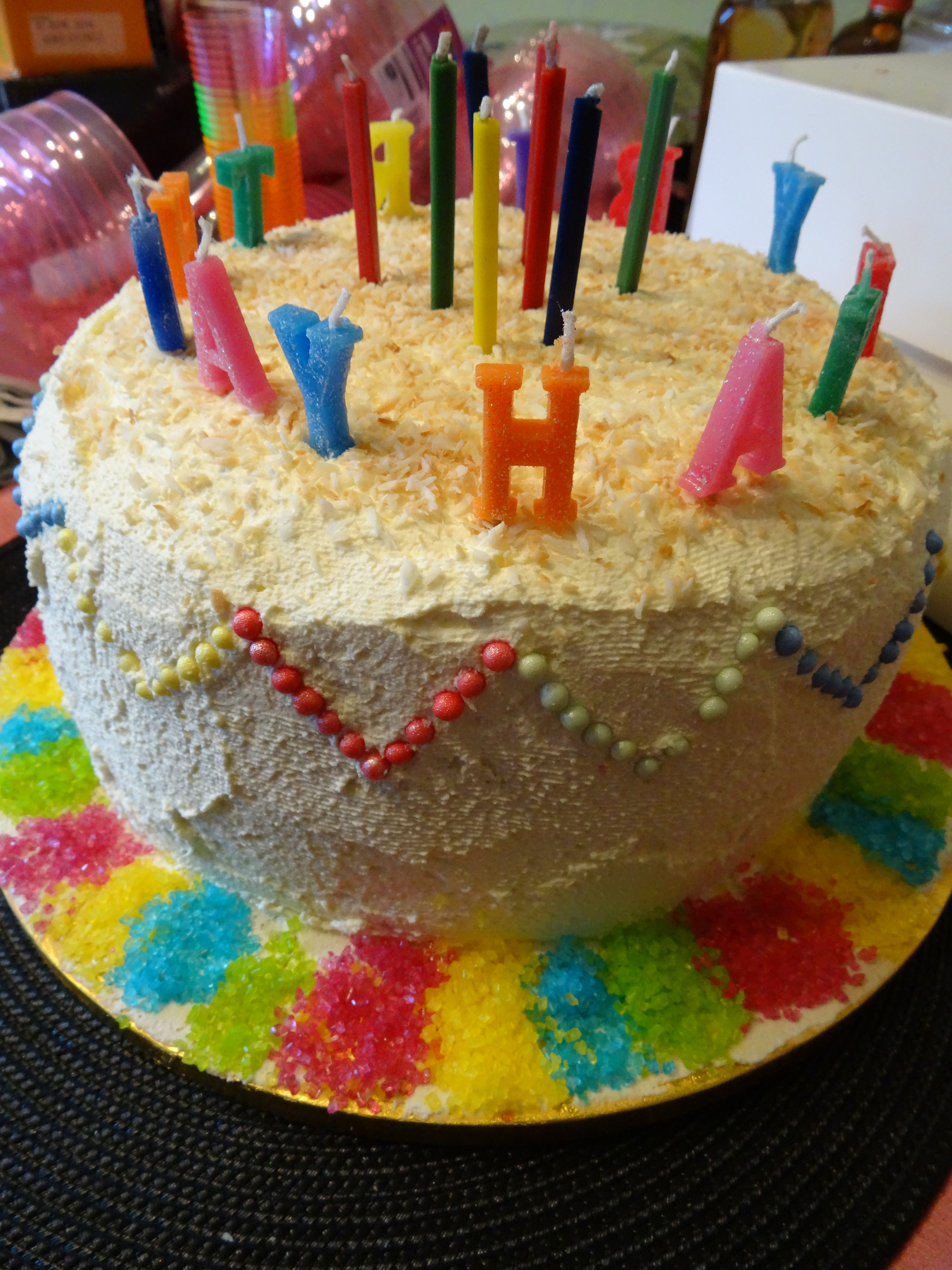 Mexican Birthday Cake Tradition
