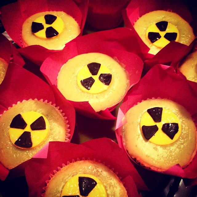 Radioactive Cupcakes
