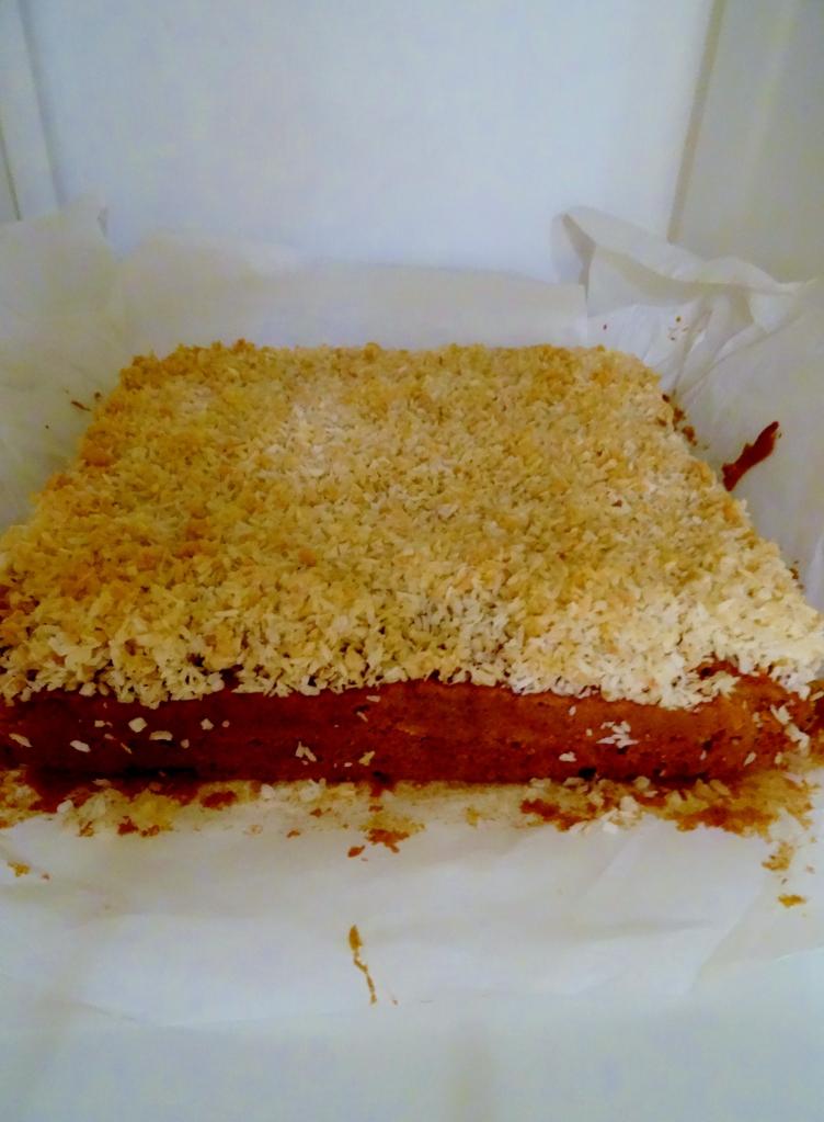 Carrot + Coconut Traybake, Sam Loves Cake