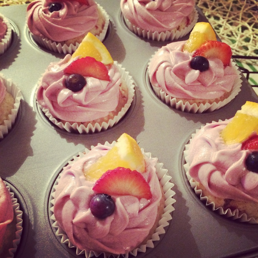 Sangria Cupcakes, Sam Loves Cake